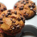 Eggless Orange Chocolate Chip Muffins Recipe