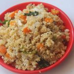 Thinai Upma Recipe – Foxtail Millet Upma Recipe