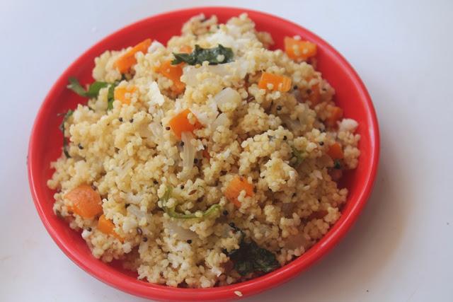 Thinai Upma Recipe – Foxtail Millet Upma Recipe