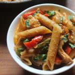 One Pot Chicken Fajita Pasta Recipe