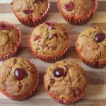 Cherry Cupcakes Recipe – Eggless Whole Wheat Cherry Cupcakes Recipe