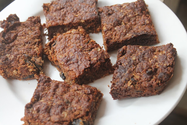 Wheat Bran Energy Bars Recipe