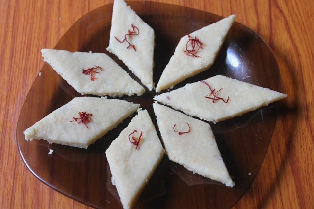 Badam Katli Recipe – Almond Katli Recipe