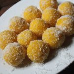 Khoya Coconut Ladoos Recipe – Coconut Ladoo with Mawa