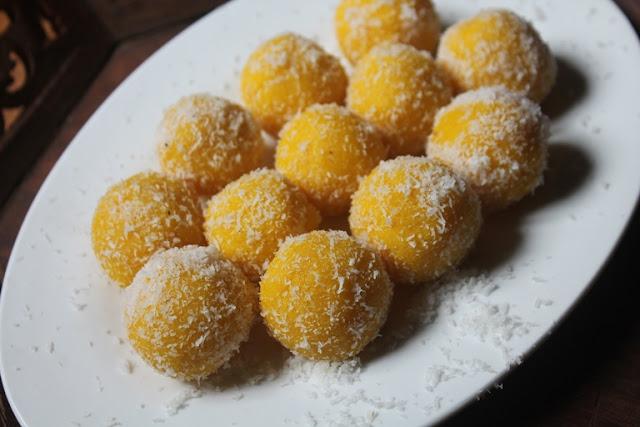 Policha Ladoo Recipe