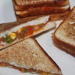 Potato, Peas & Corn Sandwich Recipe