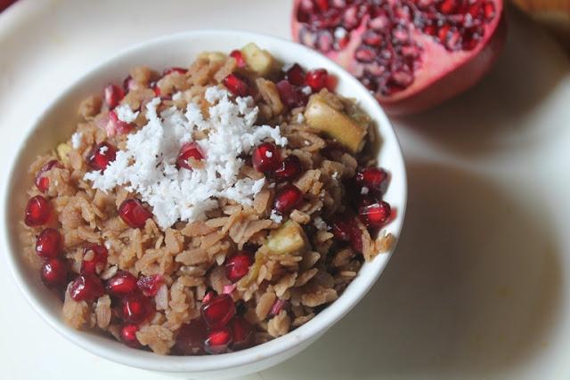 Poha Fruit Salad Recipe – Aval Salad Recipe