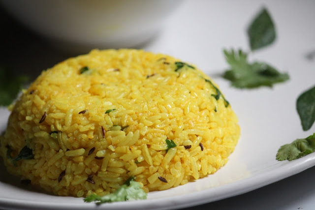 Fragrant Turmeric Rice Recipe
