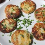 Cheesy Mashed Potato Cakes Recipe