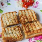 Easy Chana Masala Sandwich Recipe