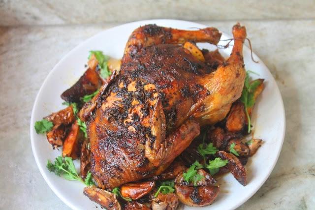 Thanksgiving Roast Chicken Recipe