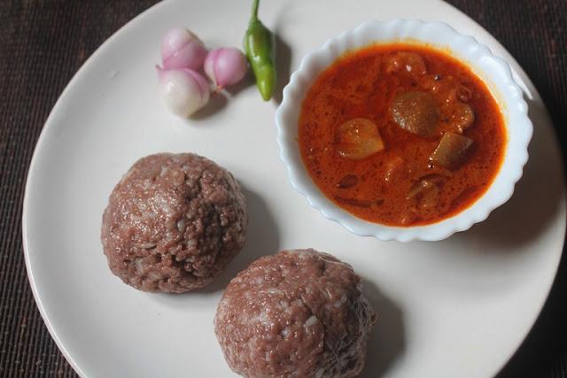 Ragi Mudde Recipe – Ragi Sankati Recipe – Keppai Kali Recipe