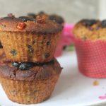 Eggless Fruit Cake Cupcakes Recipe