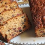 Eggless White Fruit Cake Recipe