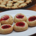 Jam Shortbread Cookies – Eggless Shortbread Thumbprint Cookies Recipe