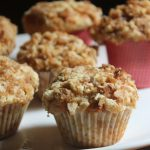 Banana Crumb Muffins Recipe – Eggless Banana Streusal Muffins Recipe
