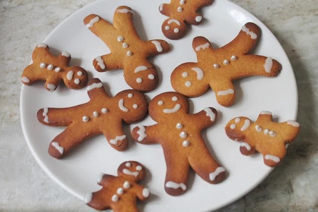 Eggless Gingerbread Cookies Recipe – Gingerbread Man Cookies Recipe
