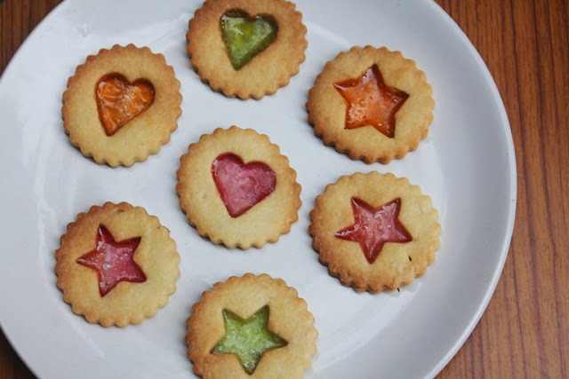 Stained Glass Sugar Cookies Recipe – Stained Glass Window Cookies – Eggless Recipe