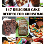 147 Delicious Cake Recipes for Christmas – Christmas Cakes & Frosting Recipes
