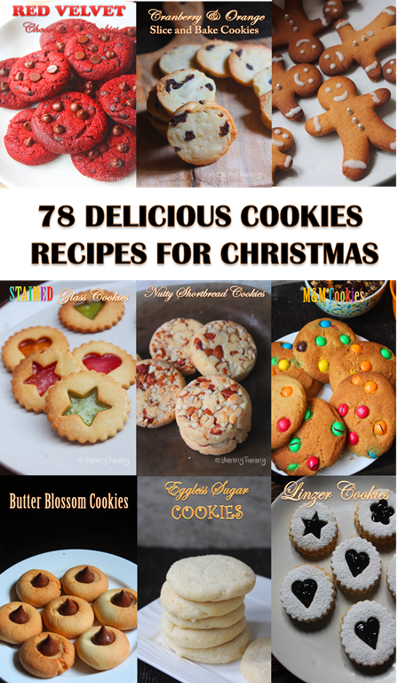 78 Amazing Cookies Recipes for Christmas – Cookies for Christmas – Cookies Recipes