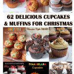 62 Cupcakes & Muffins Recipes for Christmas – Cupcakes for Christmas – Muffins Recipes