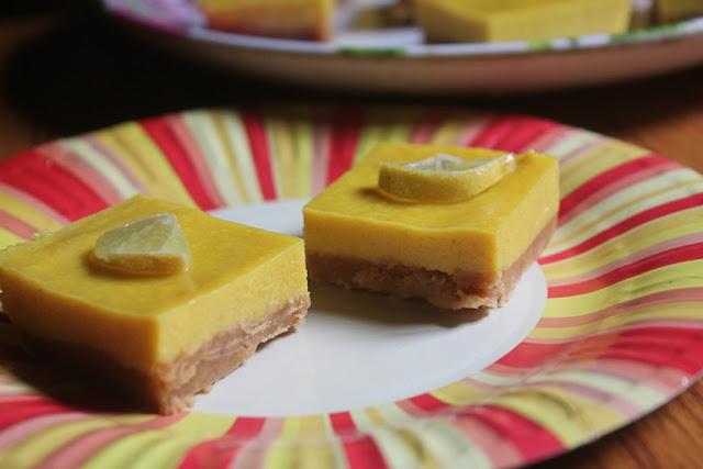 No Bake Lemon Bars Recipe