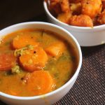 Carrot Sambar Recipe