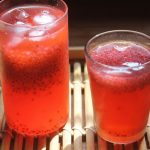 Rose Sabja Lemonade Recipe – Rose Lemon Juice Recipe