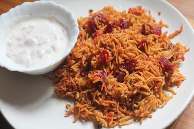 Beetroot Pulao Recipe – Beetroot Pulav Recipe