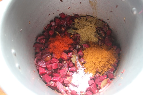 how to prepare and cook baby beetroot