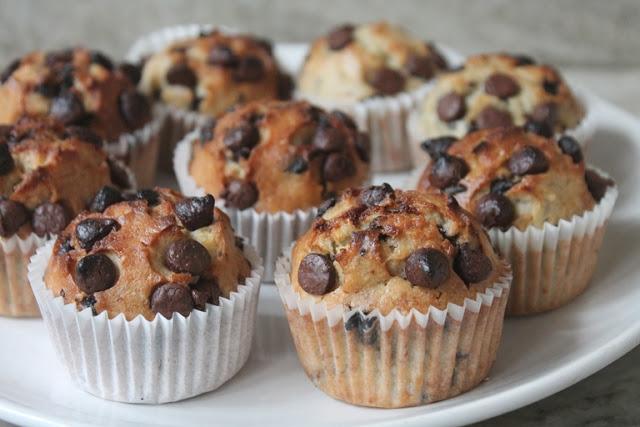 Banana – Chocolate Chip Muffins Recipe