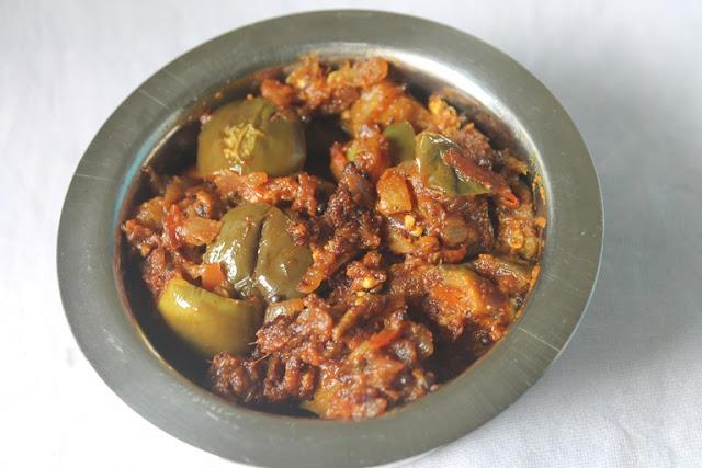 Pepper Brinjal Masala Recipe – Pepper Brinjal Recipe