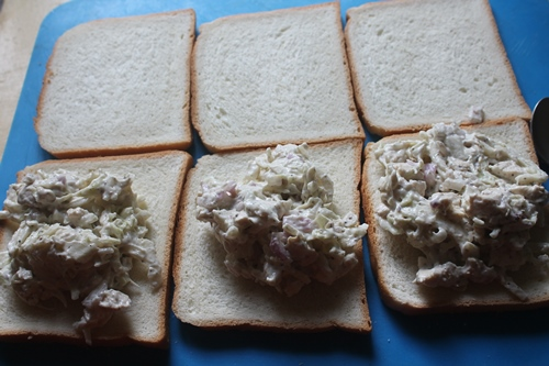 how to make chicken sandwich with mayonnaise