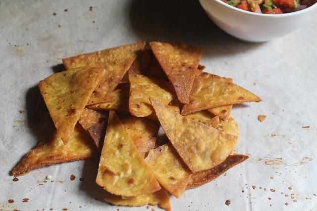 Corn Tortilla Chips Recipe –  Salted Tortilla Chips Recipe