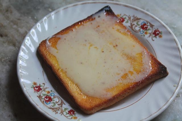 Condensed Milk Toast Recipe Butter Toast With Condensed Milk