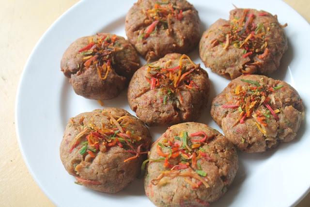 Whole Wheat Coconut Cookies Recipe – Eggless Recipe