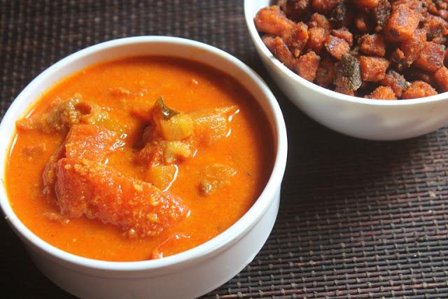 Tomato Kuzhambu Recipe – Thakkali Kulambu Recipe