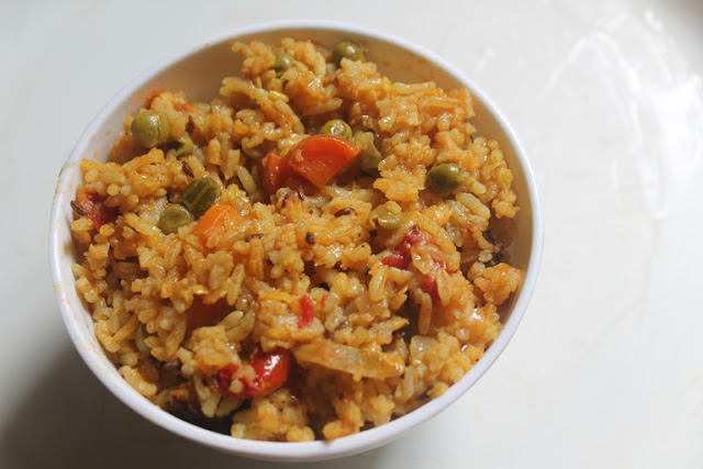 Masala Vegetable Khichdi