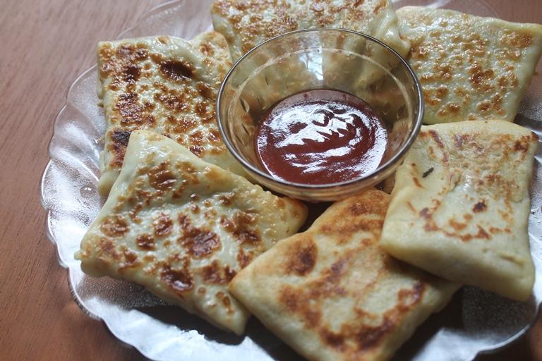 Vegetable Crepes Parcels Recipe – Veg Crepes Recipe