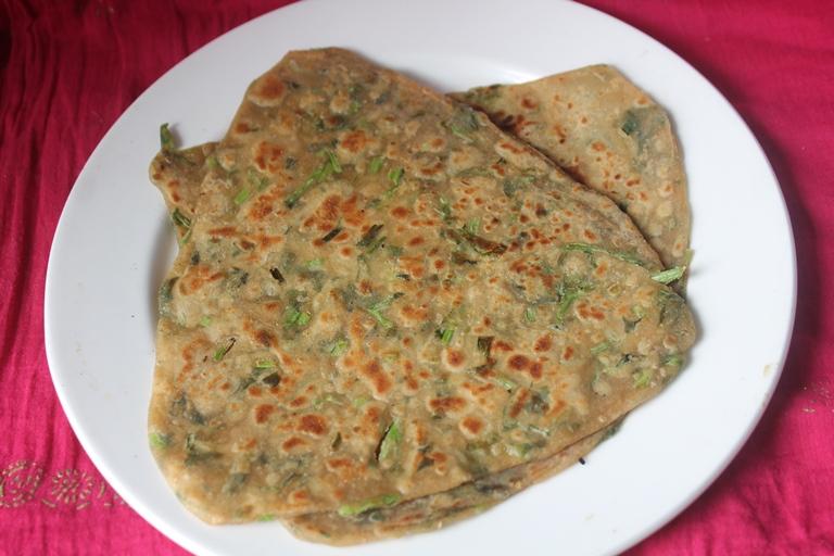 Fresh Methi Paratha Recipe