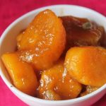 Sweet Potato in Jaggery Syrup Recipe – Vrat Recipes