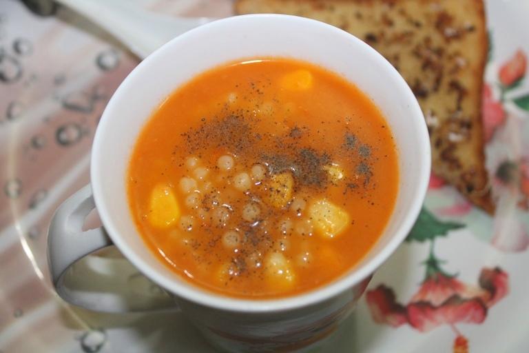 Tomato Pasta Soup Recipe – Tomato Soup with Pasta