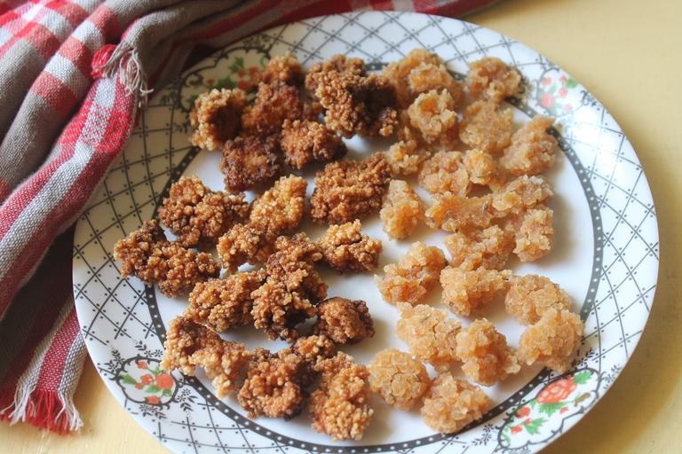 Leftover Rice Vadam Recipe – Cooked Rice Vadam Recipe