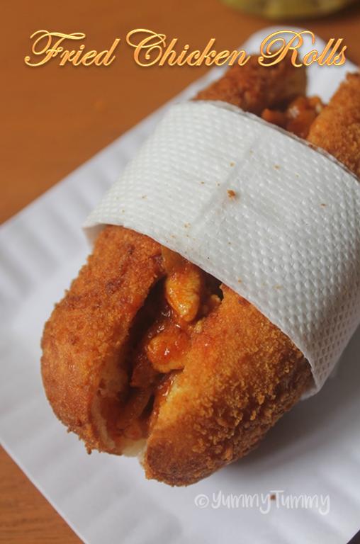 Fried Chicken Rolls Recipe Ramzan Special Recipes