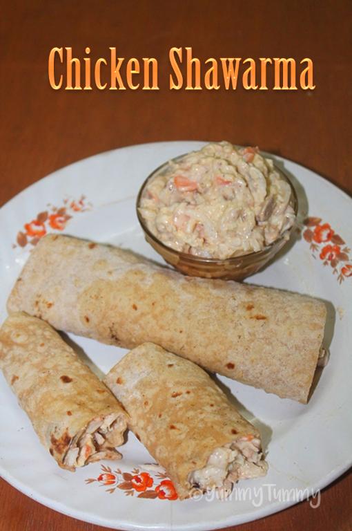 Chicken Shawarma Recipe - Middle Eastern Shawarma Recipe