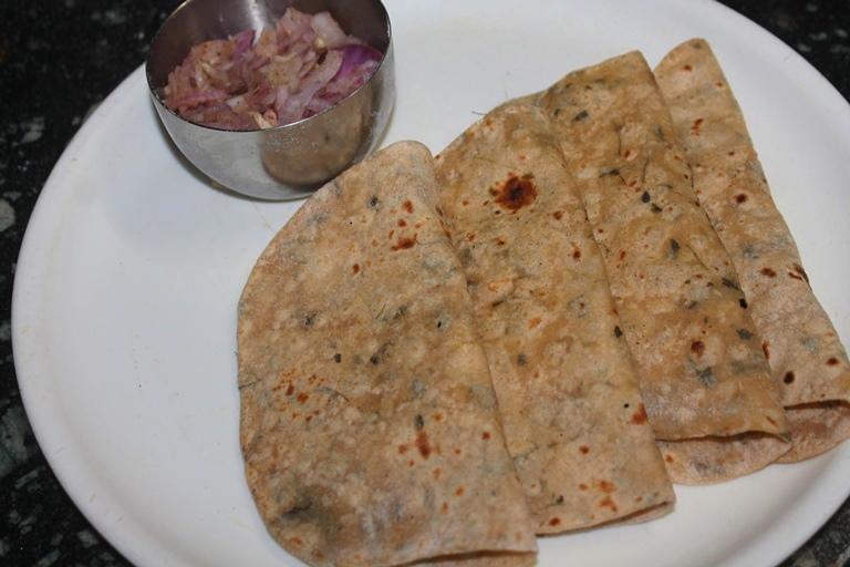 Methi Chapati Recipe – Kasuri Methi Chapati Recipe