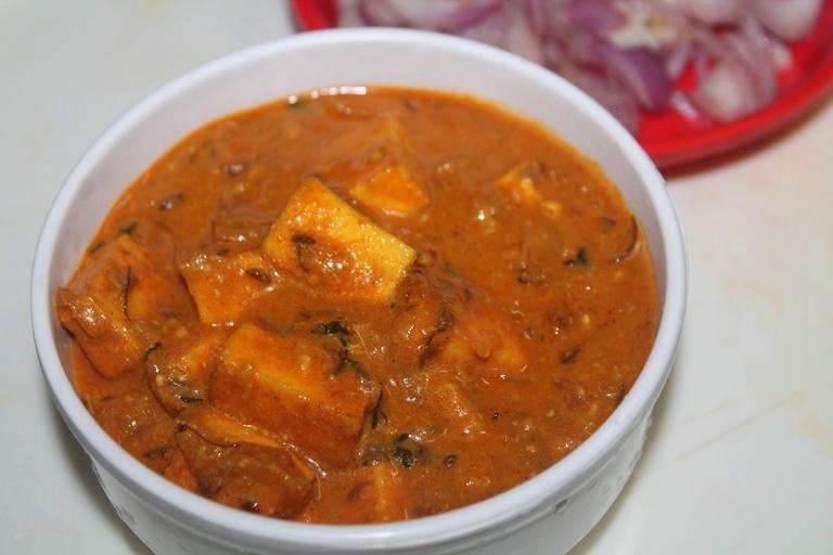 Malai Paneer Recipe – Creamy Malai Paneer Gravy Recipe
