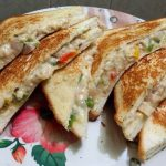 Cheesiest Veg Sandwich Recipe – Vegetable & Cheese Sandwich Recipe
