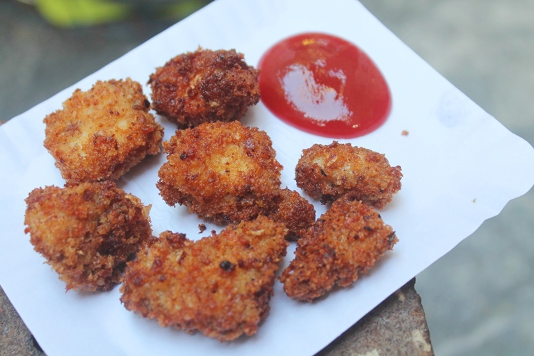 Crispy Chicken Nuggets Recipe – Kids Special Recipe