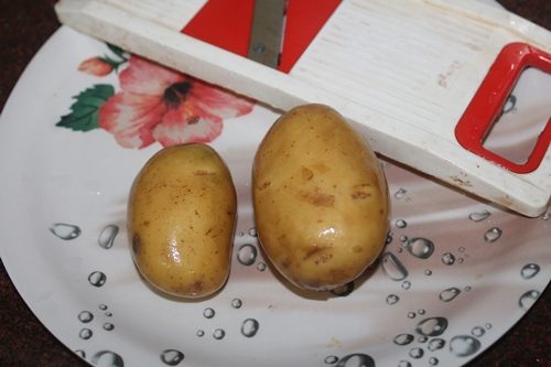 how to make potato chips more crispy